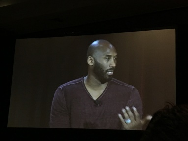 Kobe talking about his love for animation.